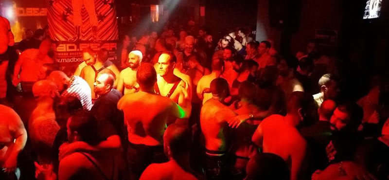 Strong Center Madrid gay club